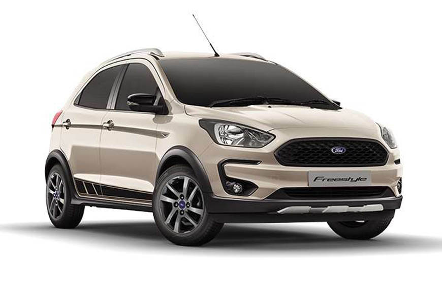 India-spec Ford Freestyle cross-hatch details, variants explained including petrol and diesel ...