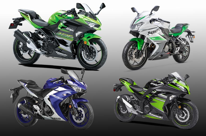 2018 kawasaki ninja 400 vs rivals specifications comparison autocar india. Black Bedroom Furniture Sets. Home Design Ideas
