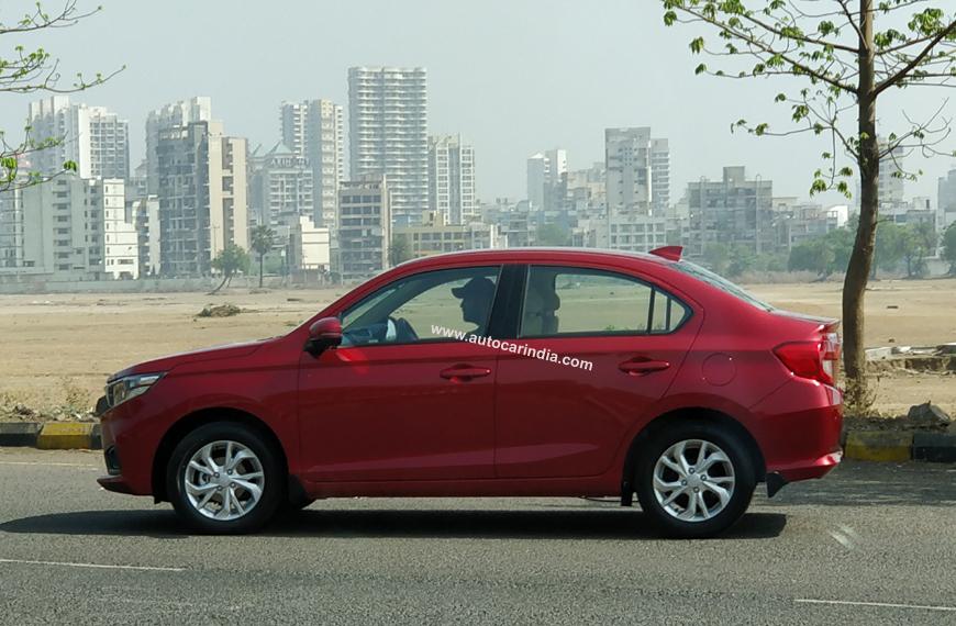 Hyundai Extended Warranty >> New Honda Amaze spied ahead of May launch - Autocar India