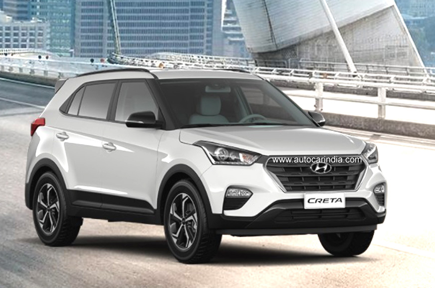 Hyundai Creta facelift bookings open, launch this month - Autocar India