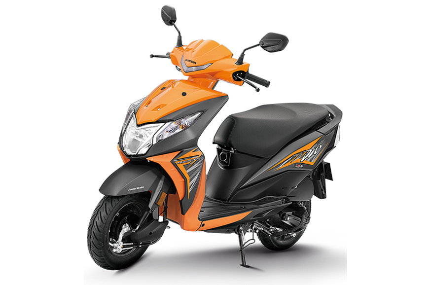 Honda Dio Deluxe Launched At Rs 53 292 Autocar India