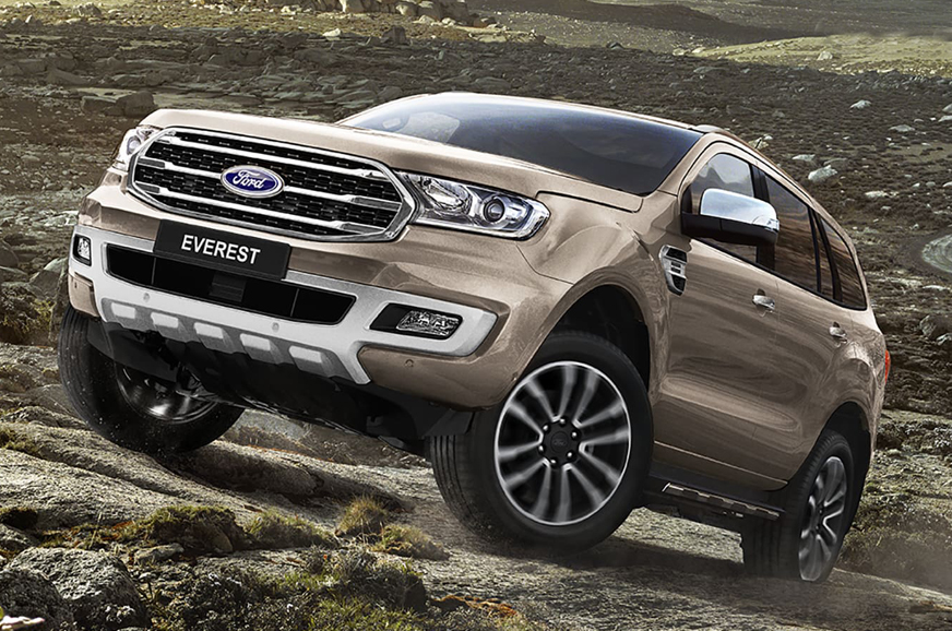 Ford Everest (Endeavour) facelift officially unveiled - Autocar India