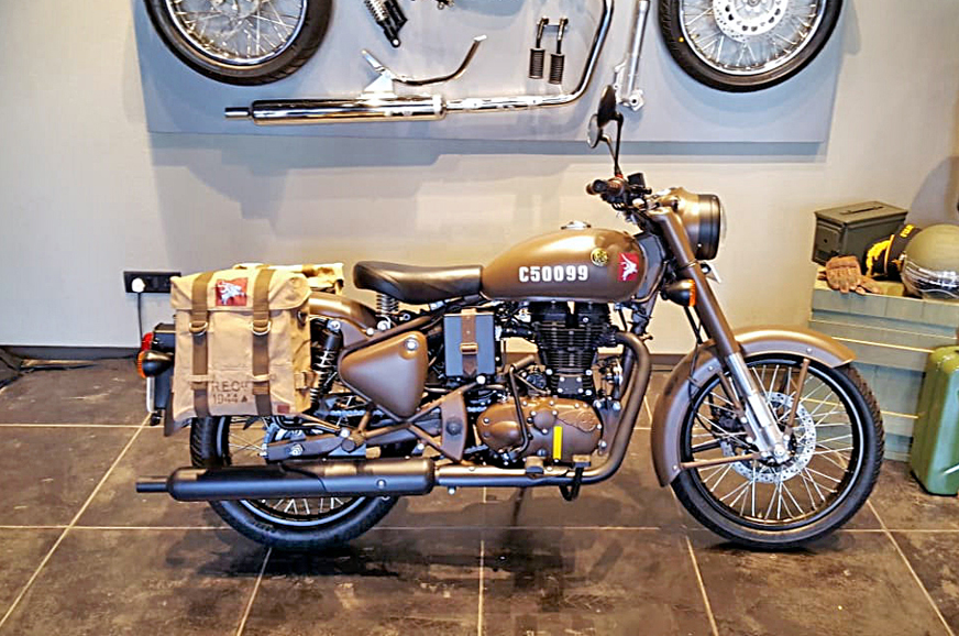 Royal Enfield Classic 500 Pegasus Sold Out In 178 Seconds Autocar India