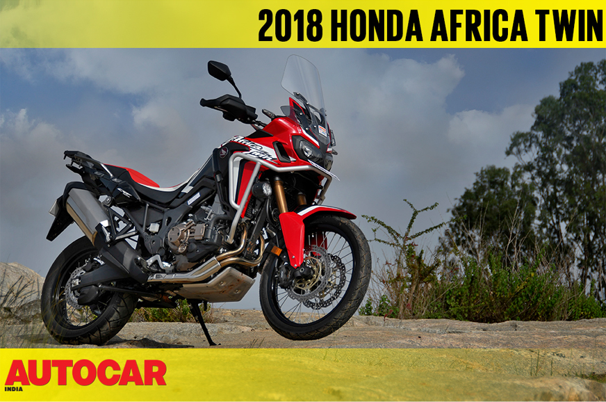 2018 honda africa twin dct video review autocar india. Black Bedroom Furniture Sets. Home Design Ideas