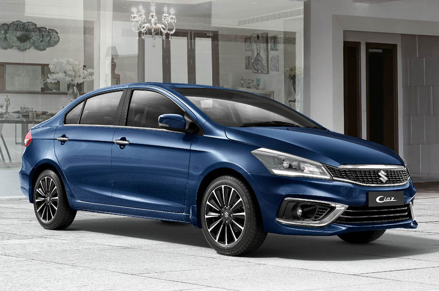 2018 maruti suzuki ciaz facelift launched at rs 819 lakh