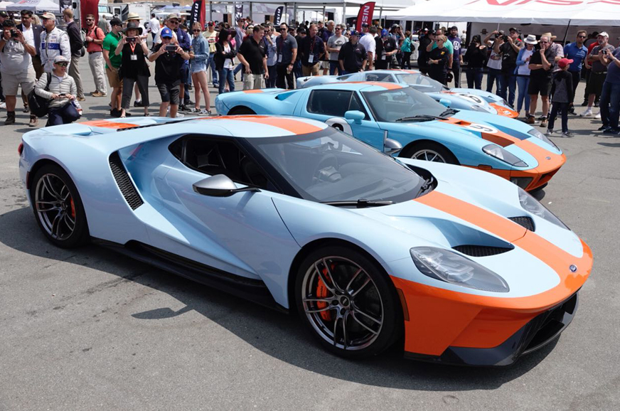 2019 Ford GT Heritage Edition with Gulf Oil livery ...