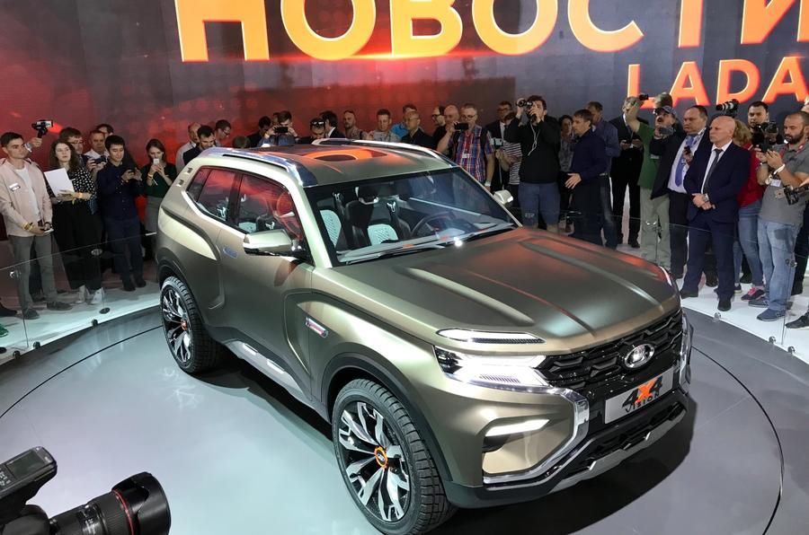 Lada 4x4 Vision Concept Unveiled In Moscow Autocar India