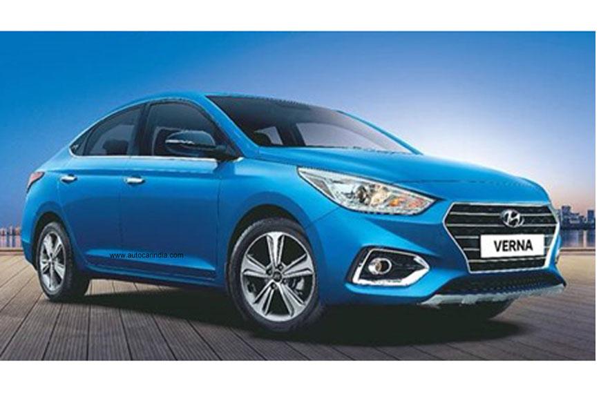 hyundai verna anniversary edition revealed autocar india