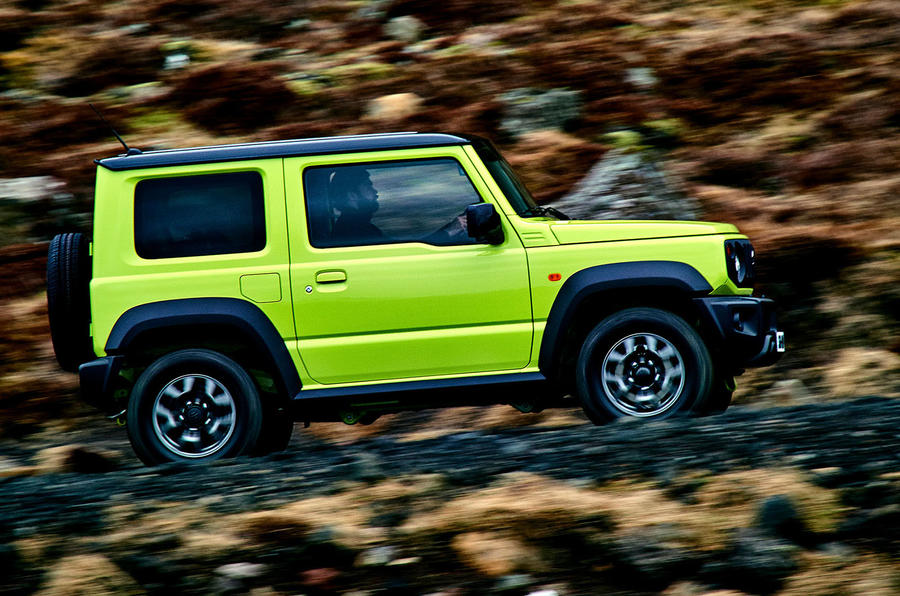 2018 suzuki jimny review test drive autocar india. Black Bedroom Furniture Sets. Home Design Ideas
