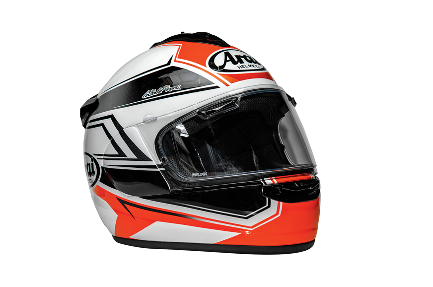 arai chaser x shaped red helmet review autocar india. Black Bedroom Furniture Sets. Home Design Ideas