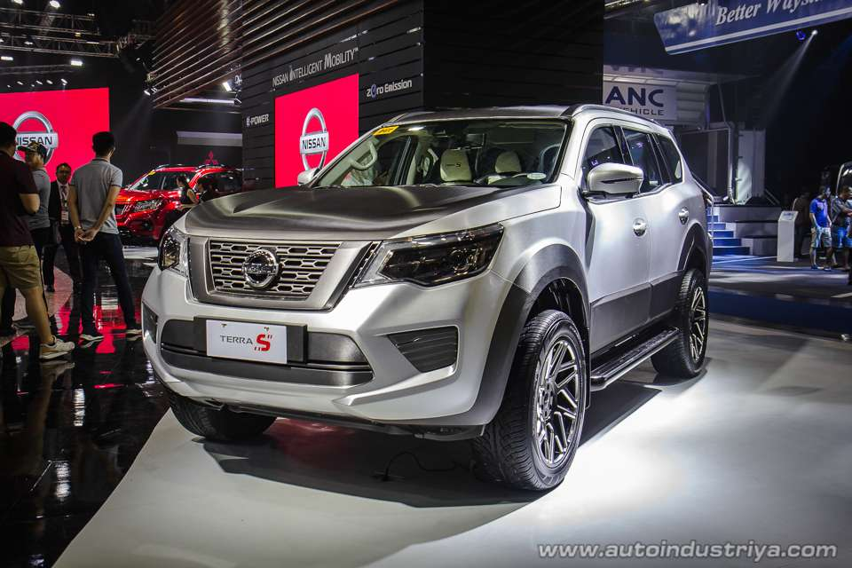 Nissan Terra S showcased at Philippines motor show 2018 ...