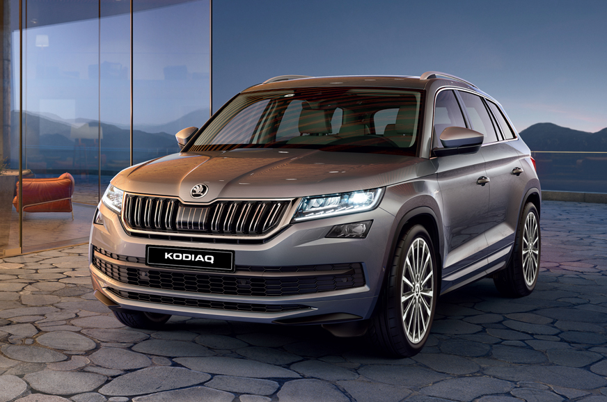 2018 Skoda Kodiaq L&K launched at Rs 35.99 lakh - Autocar ...