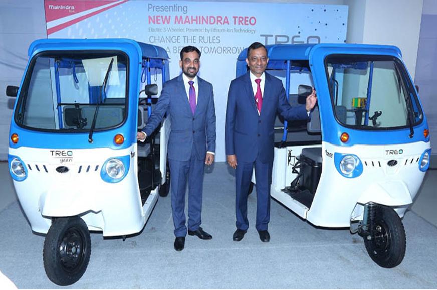 Mahindra Launches Electric Three Wheeler Opens Ev Tech