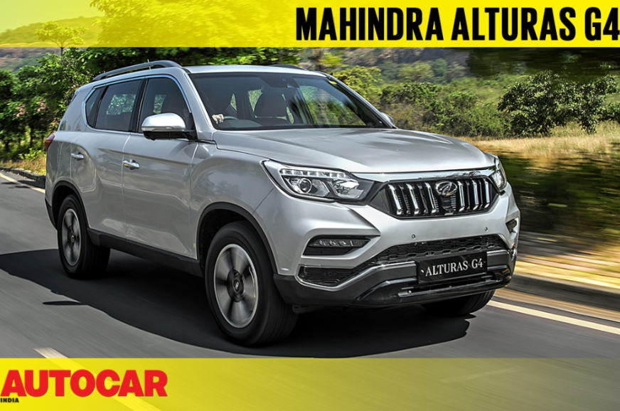 Review: 2018 Mahindra Alturas G4 video review