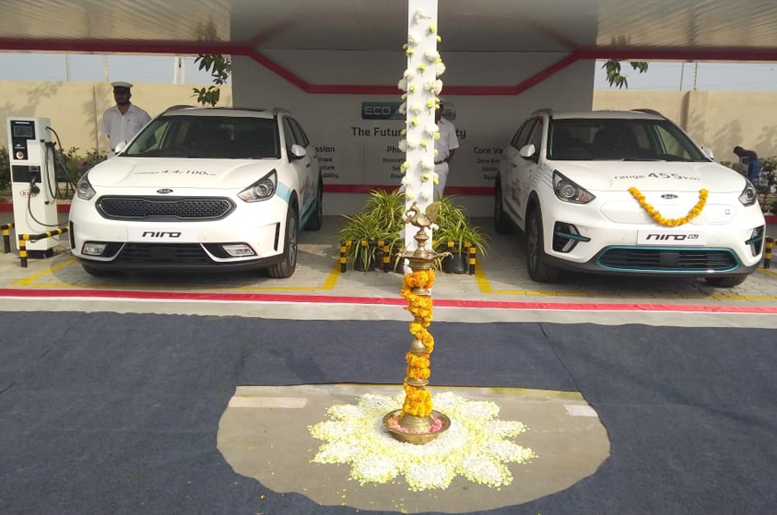 Kia Pushes For Electric Mobility In Andhra Pradesh Autocar India