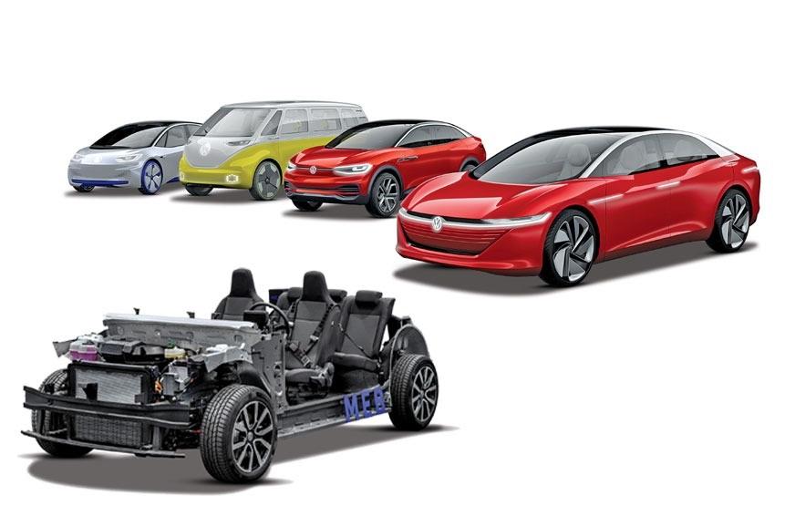 Vw Electric Suv Seat Minim 2019 Elektro Studie