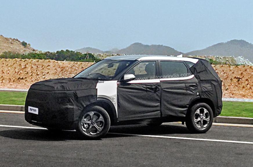 Pre-production Kia SP2i SUV revealed - Autocar India