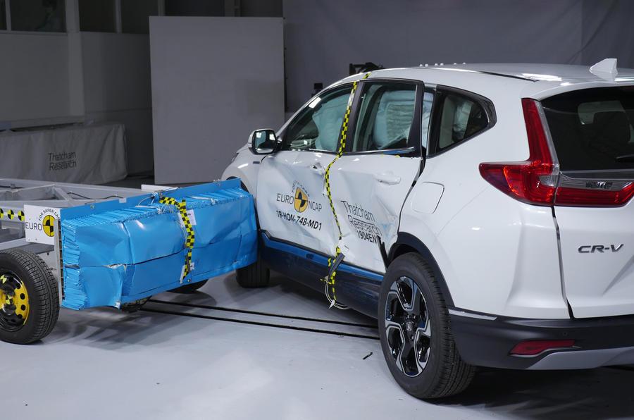 New Honda CR-V gets five-star Euro NCAP rating - Autocar India
