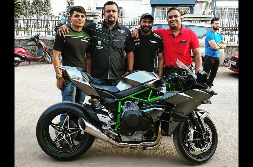 2019 Kawasaki Ninja H2r Delivered In India Autocar India