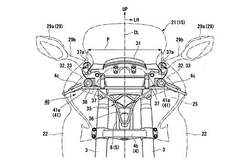 Next Gen Honda Gold Wing To Get 3d Vision For Safety