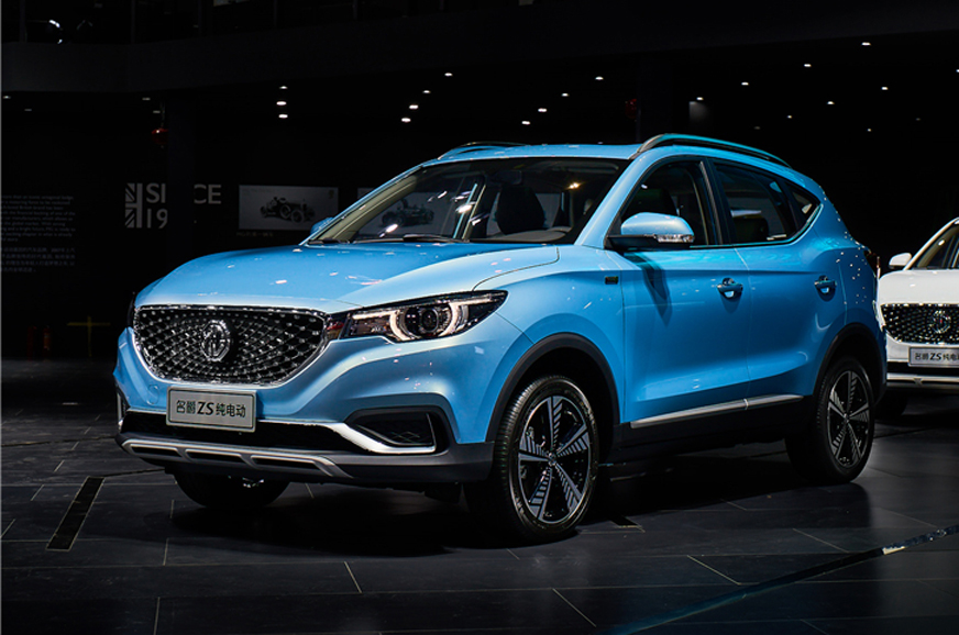 MG eZS all-electric SUV India launch initially limited to ...
