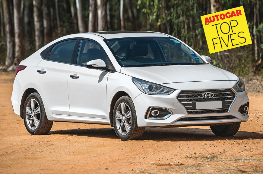 Which Are The Top 5 Mid-size Sedans On Sale In India With