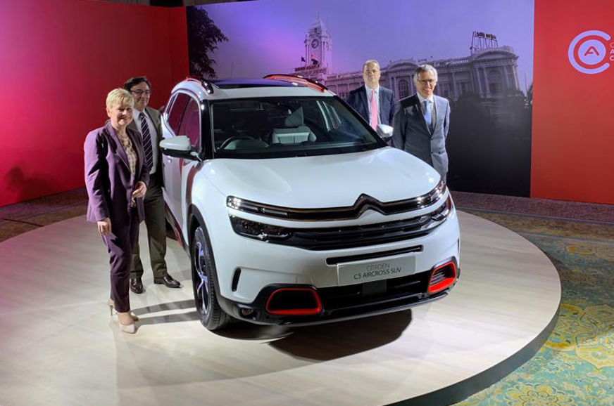 Citroen C5 Aircross Suv India Launch Confirmed For 2020 Autocar India