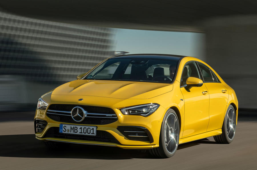 Mercedes-AMG CLA 35 revealed ahead of Shanghai debut
