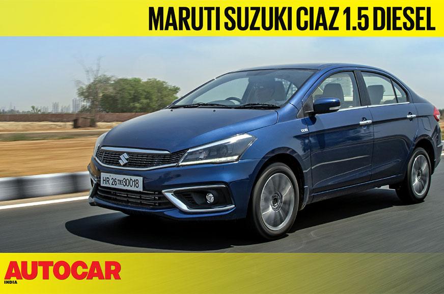 Review: 2019 Maruti Suzuki Ciaz 1.5 diesel video review
