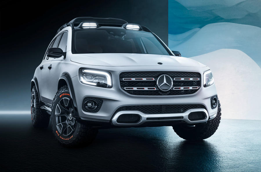 Mercedes GLB images revealed ahead of world debut ...