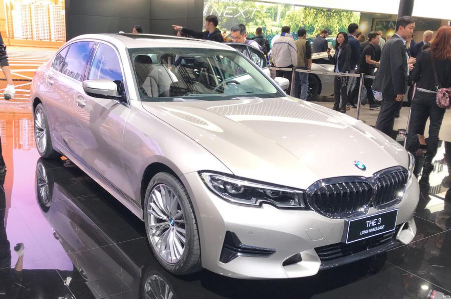 New BMW 3 Series LWB showcased at 2019 Shanghai motor show