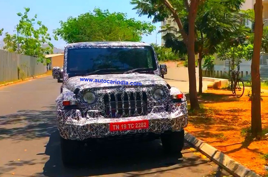 new mahindra thar launch date  engine details and more