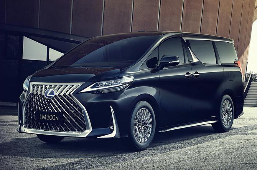 2019 Lexus LM 300h MPV unveiled