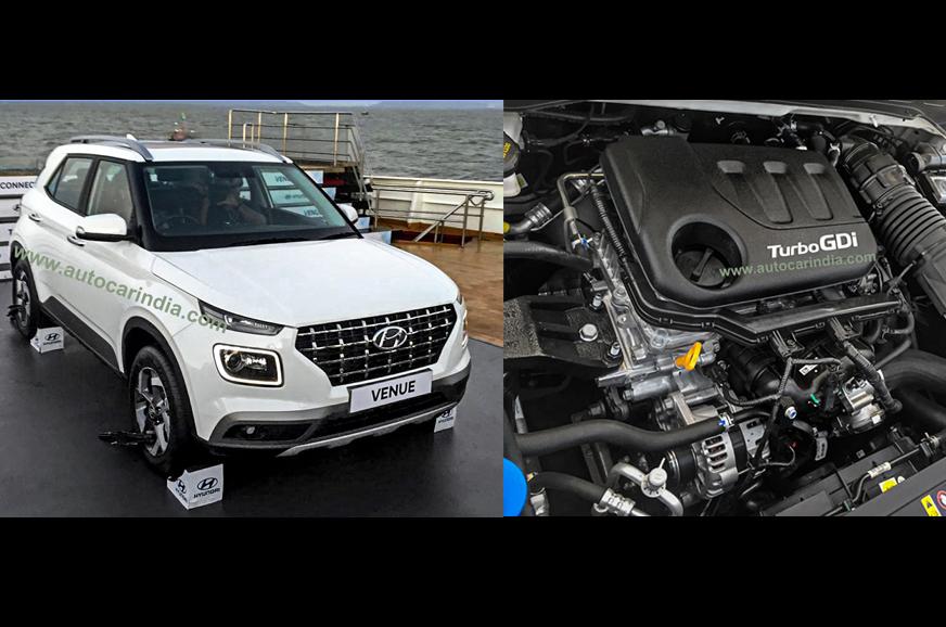 Hyundai Venue SUV engine details revealed - Autocar India