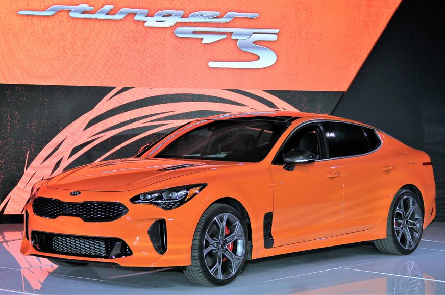 New Kia Stinger GTS revealed in New York