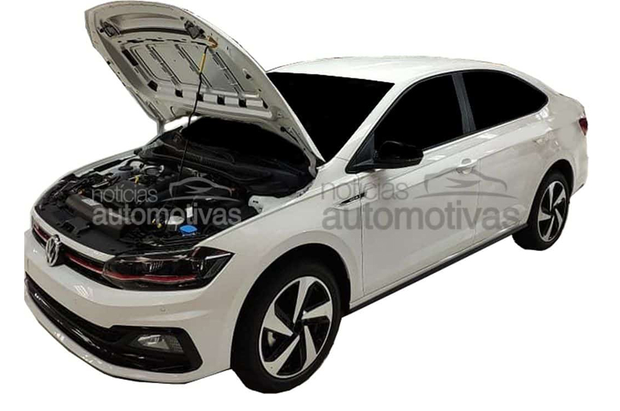 Production-spec Volkswagen Virtus GTS leaked ahead of debut