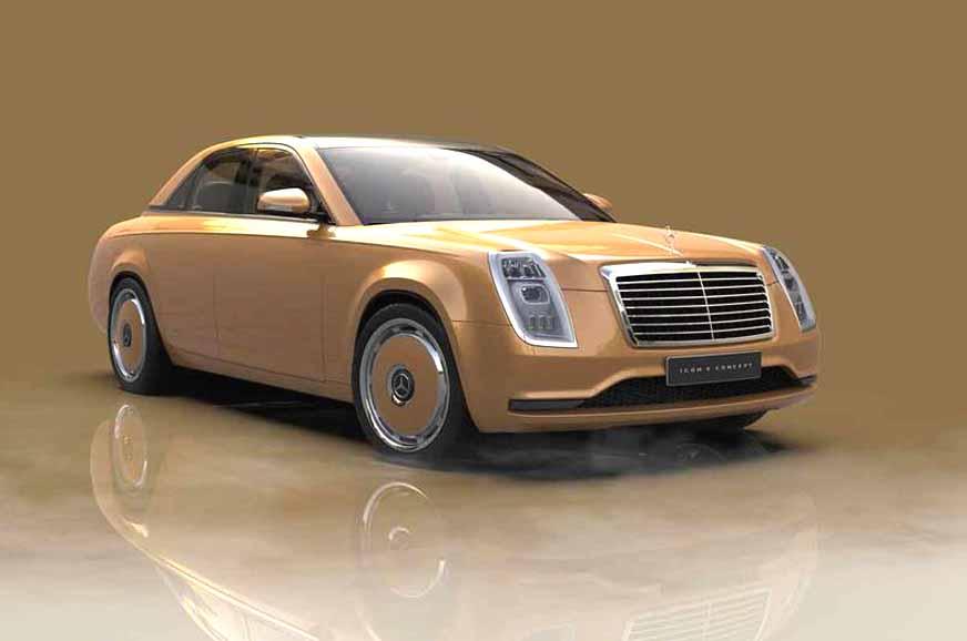 Mercedes Icon E Concept reimagines the classic W115 sedan