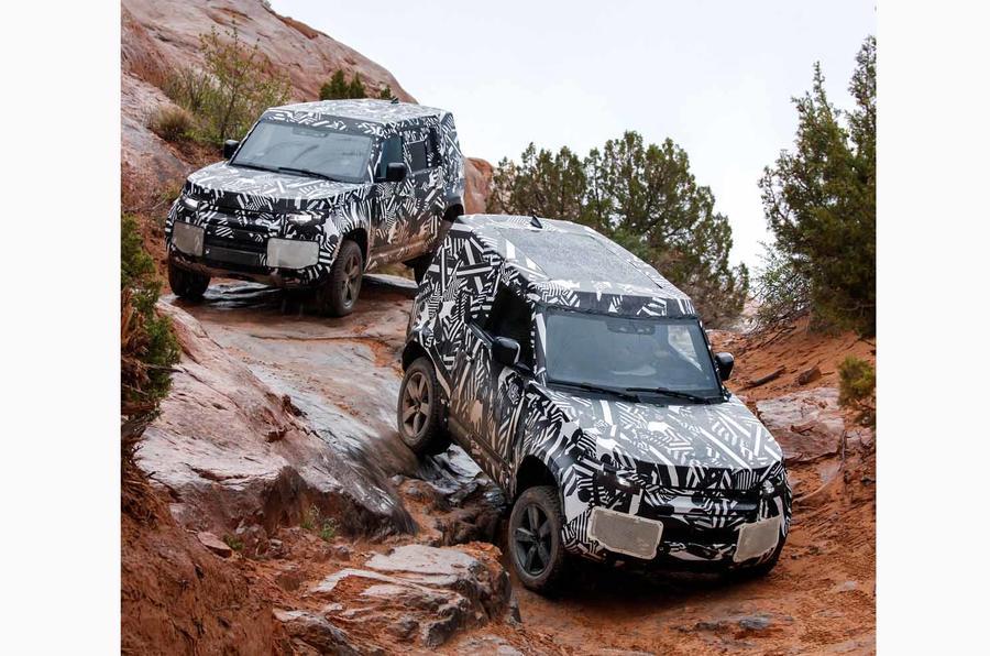 Next-gen Land Rover Defender completes testing