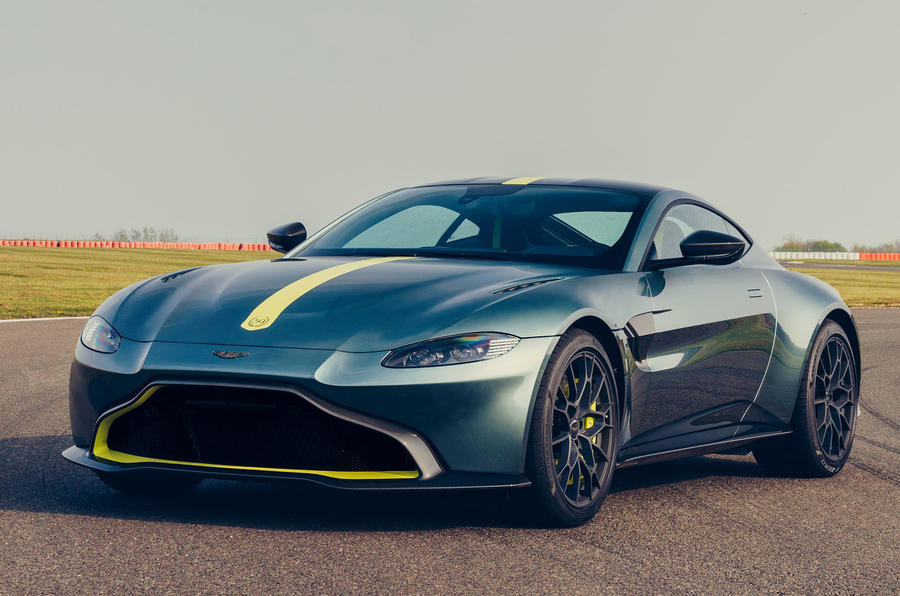 Aston Martin Vantage AMR gets 7-speed manual option