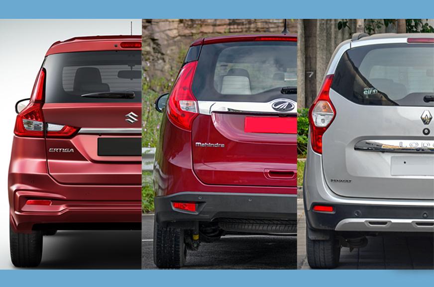 Maruti Suzuki Ertiga 1.5 diesel vs rivals: Specifications comparison