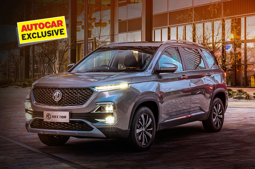 mg hector bookings autocar india
