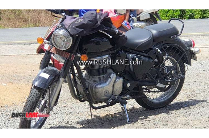 Heavily updated Royal Enfield Classic 350, 500 spied ...