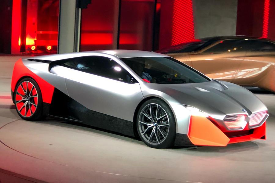 Bmw Vision M Next Concept Based On M1 Supercar Revealed