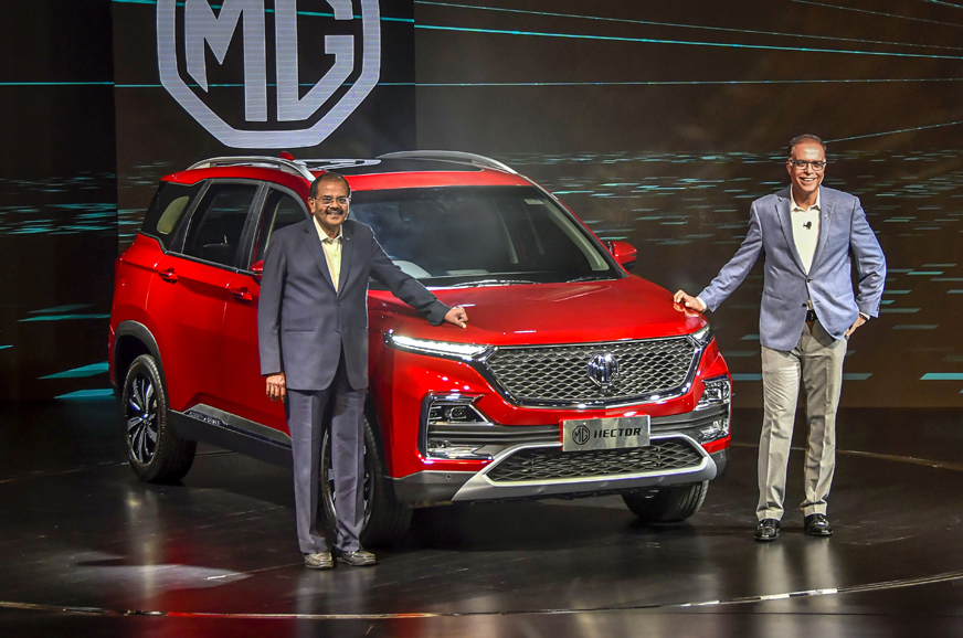 2019 MG Hector SUV launched in India, priced from Rs 12.18 ...