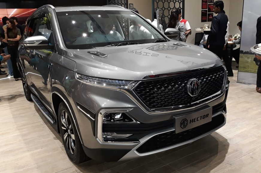 MG Hector Booking Counts Crosses 10 000 Units Four Month
