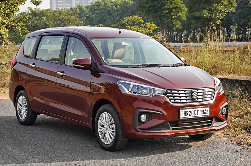 Maruti Suzuki Ertiga Now Bs6 Compliant Priced From Rs 7 55 Lakh