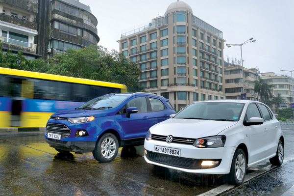 Ford Ecosport Auto Vs Volkswagen Polo Gt Tsi Feature