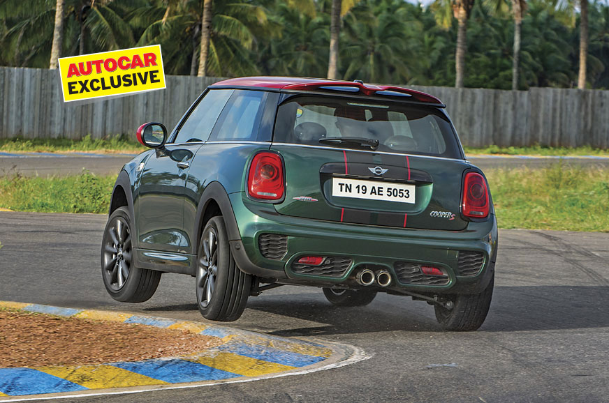 On Track With The Mini Jcw Pro Edition Feature Autocar India