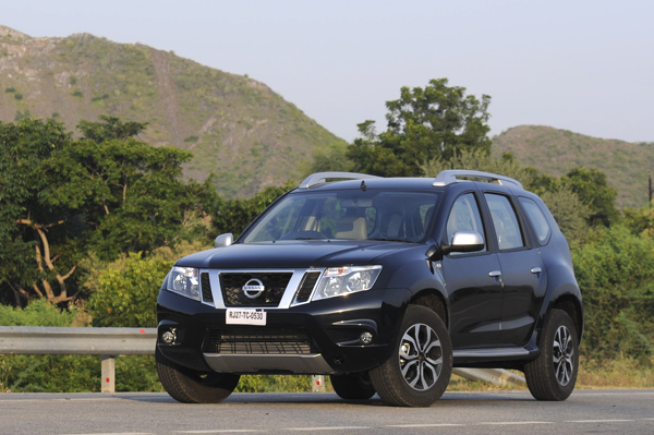 The Nissan Terrano gets all-new headlamps that look quite striking