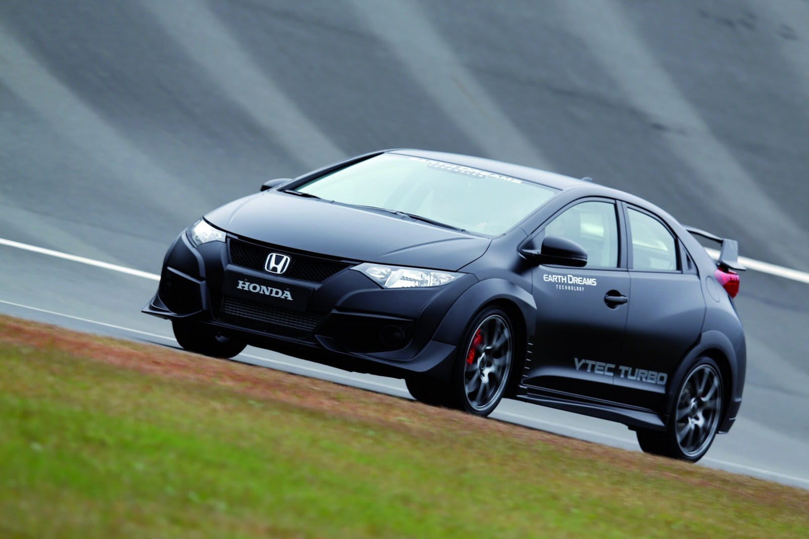 honda civic type r prototype photo gallery autocar india. Black Bedroom Furniture Sets. Home Design Ideas